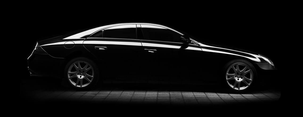 Black mercedes background photo